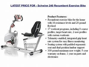 Schwinn 230 Recumbent Bike Manual