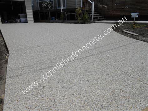 ccc polished concrete rosanna driveway