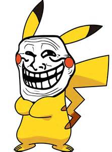 Pikachu Troll Face