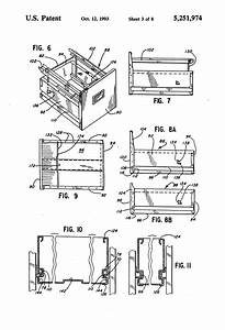 Patent Us5251974 - Multi-drawer File Cabinet