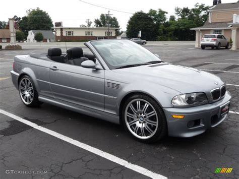 2005 Bmw Colors  2005 Bmw M3 Convertible  Silver Grey
