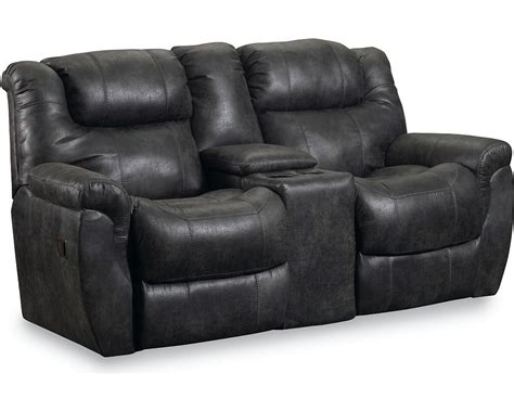 sofa with two recliners double recliner sofa with console minimalist sofa design