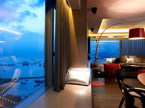 decoration chambres hôtel de luxe le w hong kong luxuo luxe