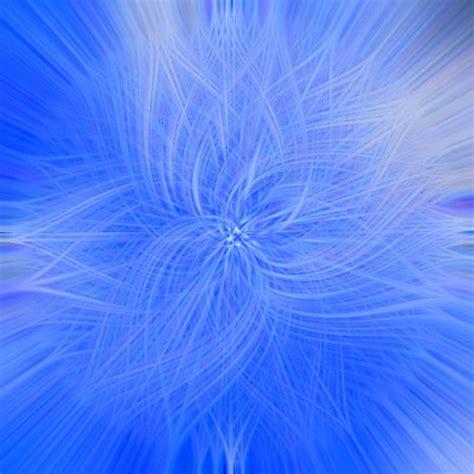 illustration gratuite rosace fond ecran bleu abstrait