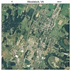Aerial Photography Map of Woodstock, VA Virginia