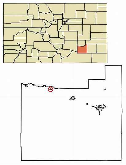 Colorado County Otero Unincorporated Areas Svg Incorporated