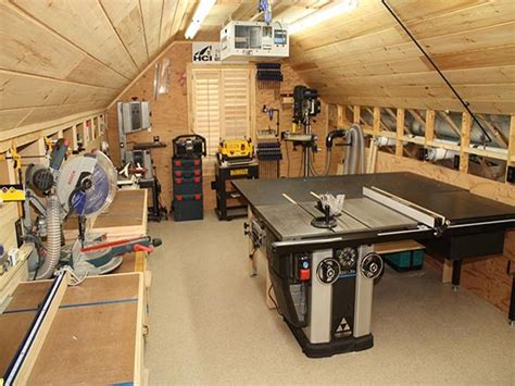 Office Desk For Small Spaces, Small Woodworking Shop Ideas