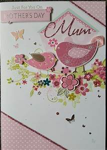 JUST FOR YOU ON MOTHER'S DAY MUM - HANDMADE MOTHERS DAY ...