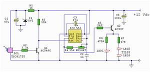 Ir Remote Control Extender Circuit Diagram