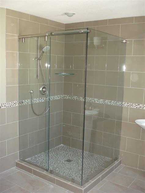 Hydroslide Shower Doors by Type Sl123 Brushed Nickel Finish Kristy Glass Co