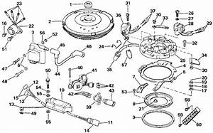 Johnson Ignition Parts For 1987 15hp J15rcud Outboard Motor