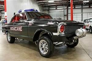 1965 Chevrolet Nova 21215 Miles Black Coupe 327ci V8 4
