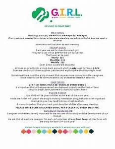 Girl Scouts Troop Welcome Letter | Girl scout daisy petals ...