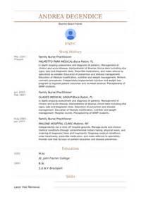 family practitioner resume exles family practitioner resume sles visualcv resume