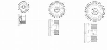 Round Cad Speakers Ceiling Wall Accessories Architectural