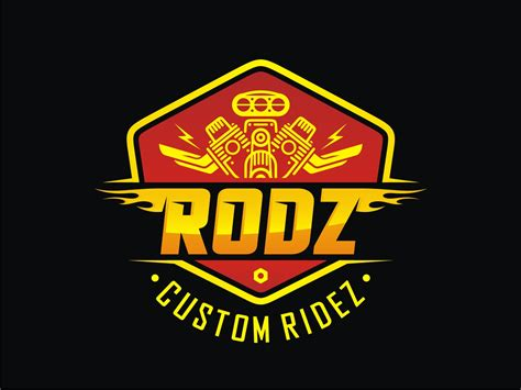 42 Bold Playful Business Logo Designs For Rodz Custom