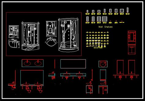 Bathroom Cad Block by Cad Library Autocad Blocks And Drawings