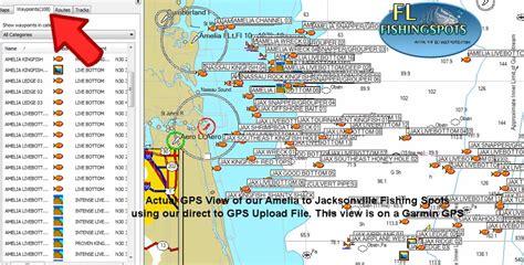 fishing florida offshore jacksonville map maps gps spots coordinates spot island