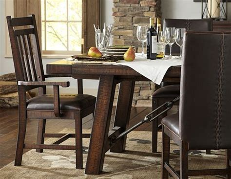 havertys dining table set dining rooms arden ridge trestle table dining rooms