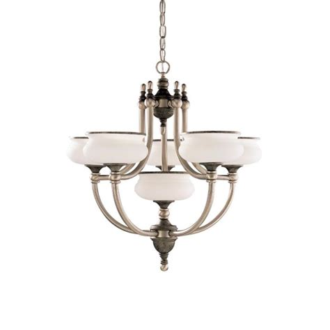 Pewter Chandelier tuscan gold and antique pewter chandelier ebay
