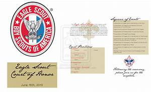eagle scout court of honor program template out of darkness With eagle scout court of honor program template