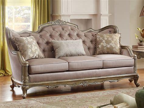 Sofa Loveseat Chair by Fiorella Traditional Elegance Luxury Sofa Loveseat Chair