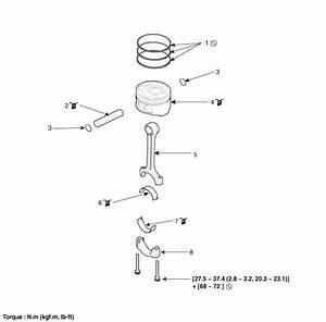 Kia Sedona  Piston And Connecting Rod Components And