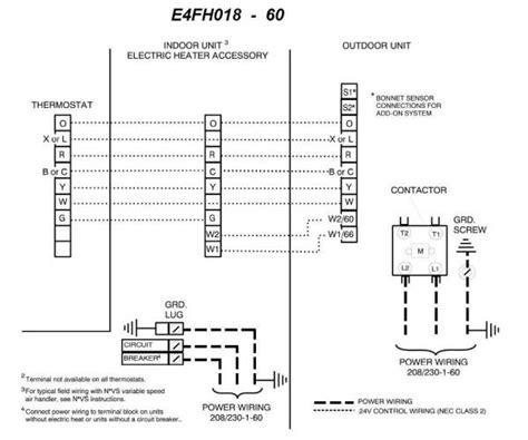 Nordyne Heat Pump Wiring Diagram Downloaddescargar