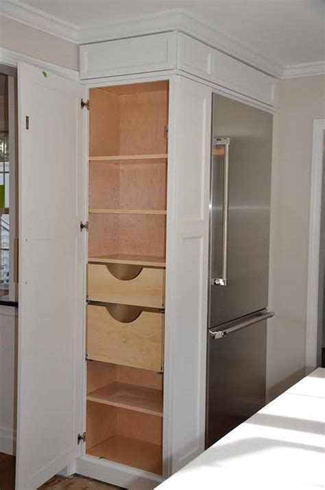 side of kitchen cabinet ideas kitchen pantry cabinet refrigerator cabinet with side