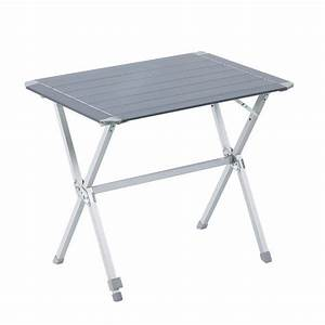 Table De Camping Leclerc : table camping aluminium 84 x 62 x 70 cm tables camping ~ Dailycaller-alerts.com Idées de Décoration