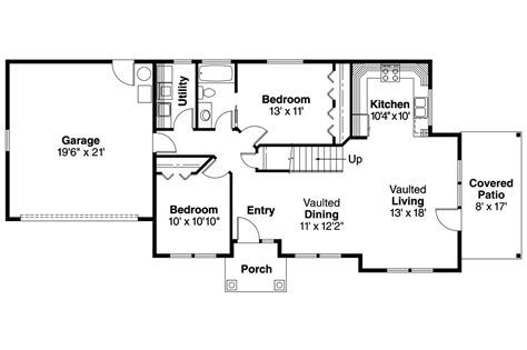 one floor home plans shingle style house plans colebrook 30 528 associated