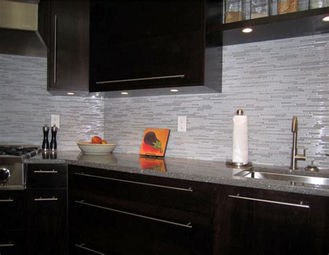 backsplash for espresso cabinets modern kitchen backsplash ideas grey and white kitchen