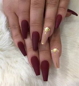 The 25+ best Burgundy nail designs ideas on Pinterest ...