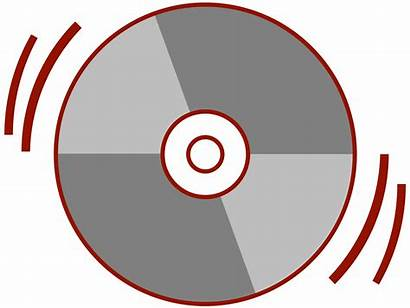 Cd Clipart Stylized