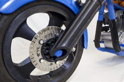 incredible fully functional  printed motorcycle