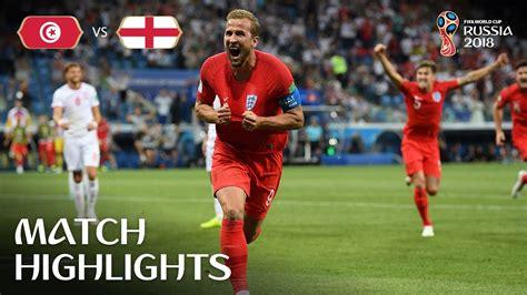 Tunisia England Fifa World Cup Russia Match