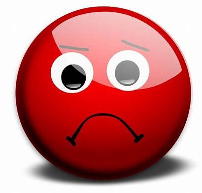 Face Sad Smiley Cliparts Emoticon Attribution Forget