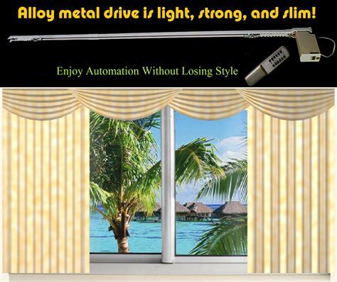 10 remote electric motorized window drapery diy track ebay
