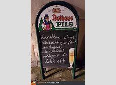 Karotten oder Alkohol? Lustige Bilder auf Spassnet