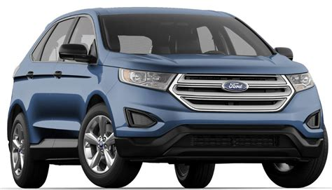 edge color 2018 ford edge color choices