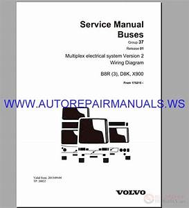 Volvo B8r Wiring Diagram Service Manual Buses