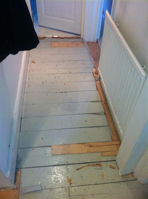 Uneven floor boards   Flooring job in Holloway, North