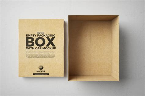 You can use this gift box & tag mockup to present your art, design, logo to perfect your sales visuals and other promotional graphics…. Free Open Empty Packaging Box Mockup | Dribbble Graphics