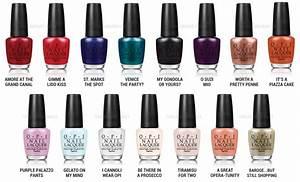 Review, Colors, Shades: OPI Venice Nail Polish Collection ...  Opi