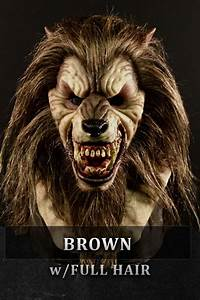 Data Examples Werewolf Silicone Mask