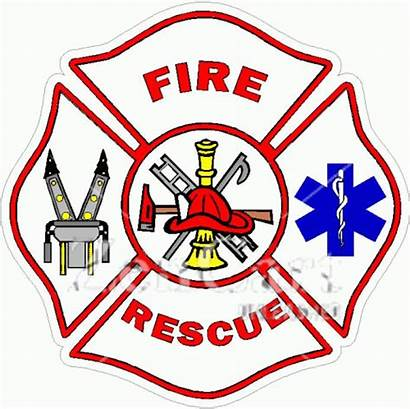 Maltese Fire Cross Rescue Decal Decals Graphics