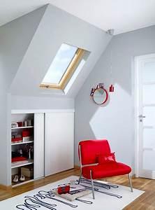 Rangement Pour Chambre : idee de rangement pour chambre mansardee visuel 8 ~ Premium-room.com Idées de Décoration
