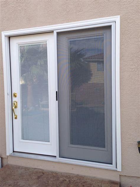turn your sliding glass door into atrium door with