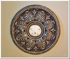 ceiling medallion art on pinterest ceiling medallions With kitchen cabinets lowes with ceiling medallions as wall art