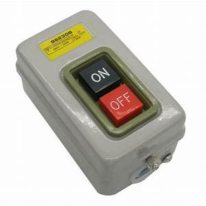 Home Switch On Off Start Stop Push Button Single Phase